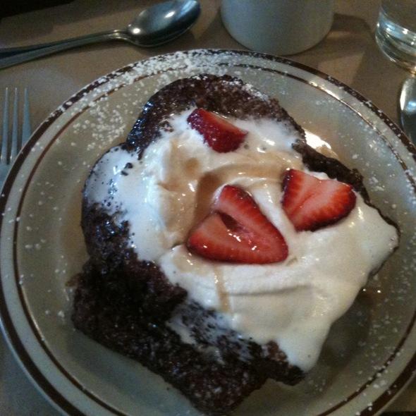 French Toast w/ Fresh Strawberries - Beehive, Boston, MA