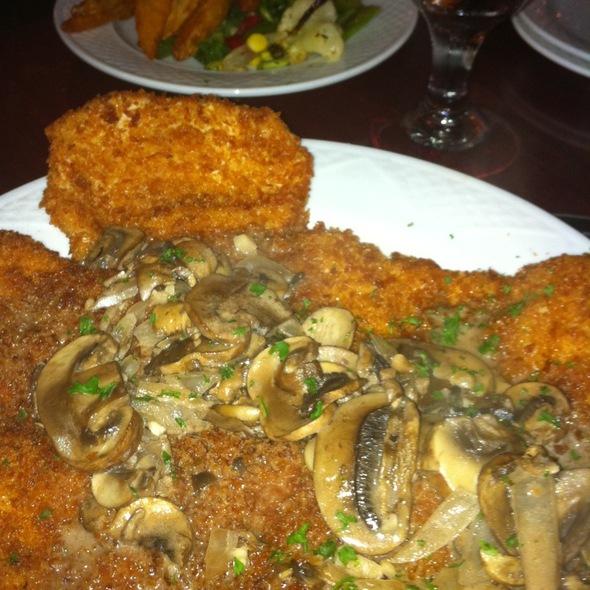 Jager Schnitzel @ Osman's Restaurant