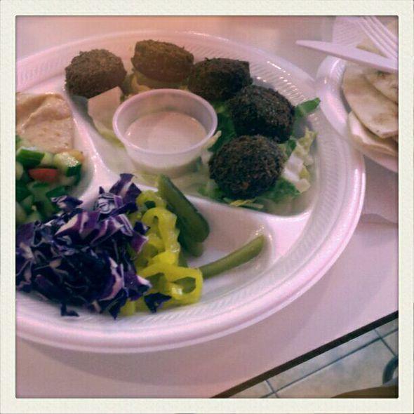 Falafel @ Shawarma Spot