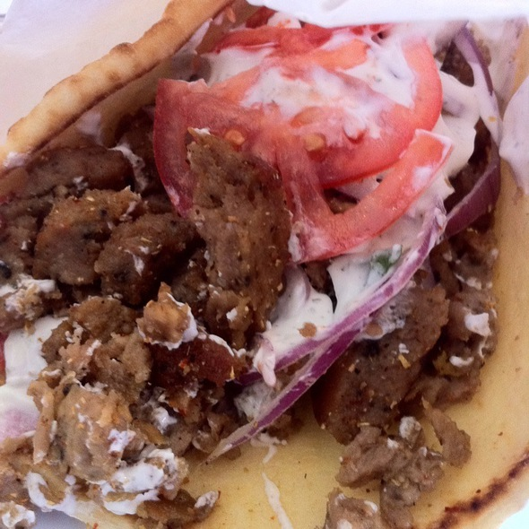 Beef And Lamb Gyro @ Café Rumi