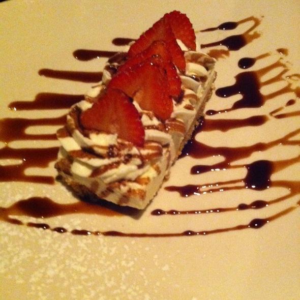 Icebox Cheesecake @ Giumarello's Restaurant