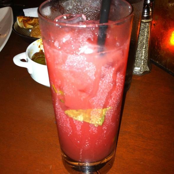 Blood Orange Mojito Cocktail @ Giumarello's Restaurant
