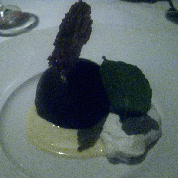 Chocolate Bombe - The Stained Glass, Evanston, IL