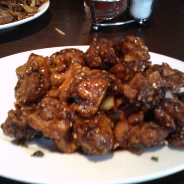 Chili Chicken @ Yueh Tung Restaurant