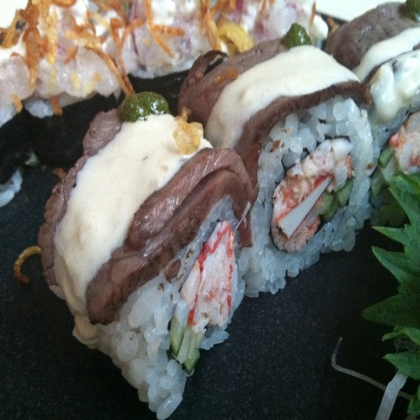 Surf N' Turf Roll - SEI restaurant & lounge, Washington, DC