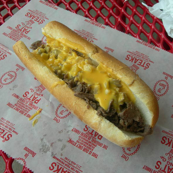 Philly Cheese Steak @ Pat's King of Steaks