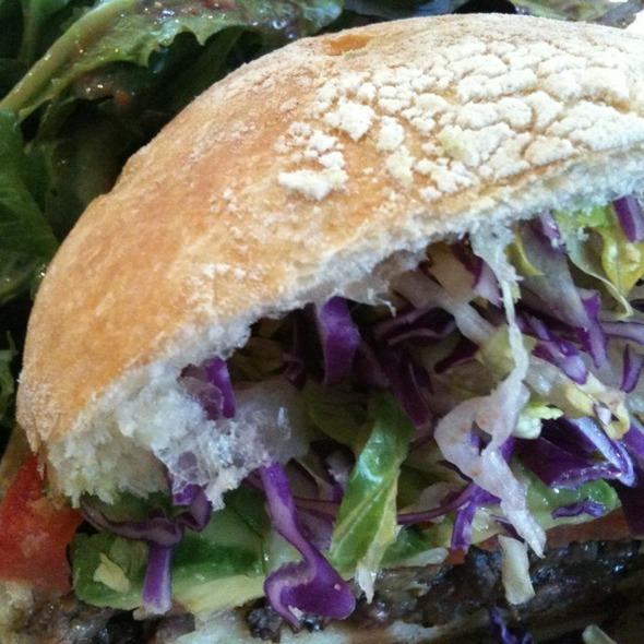 Grilled Steak Sandwich @ Coral Tree Cafe