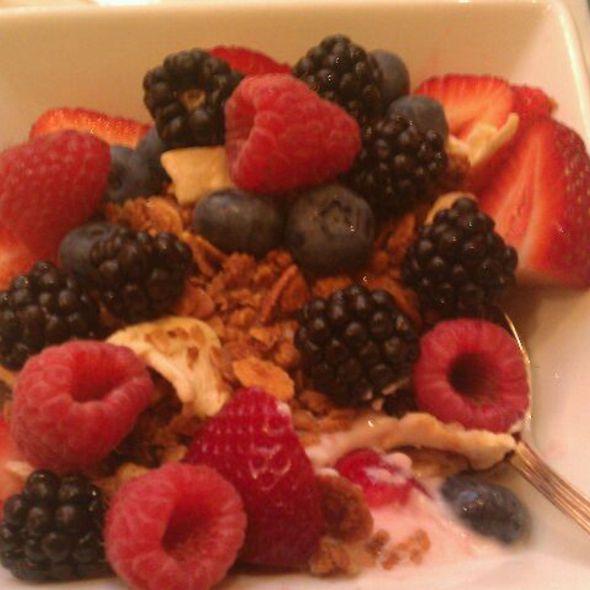 Granola With Fruit And Yogurt - EDGAR Bar & Kitchen at The Mayflower Hotel, Washington, DC