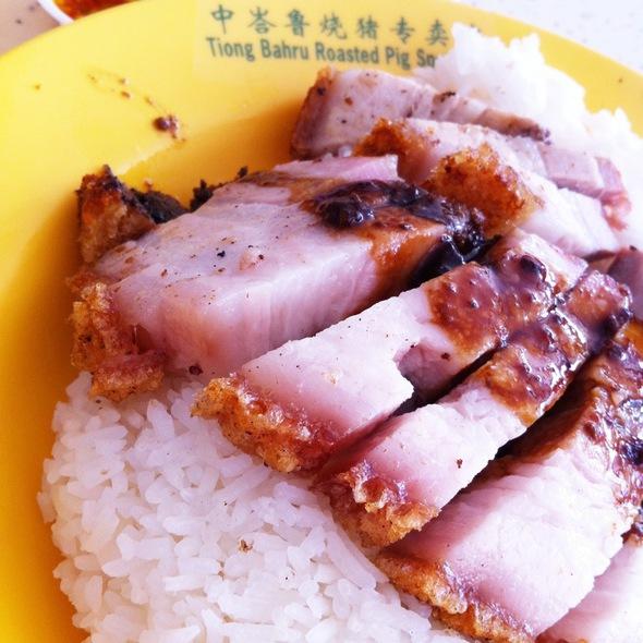 Roast Pork Rice @ Tiong Bahru Hawker Centre