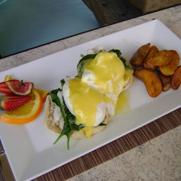 Lump Crab Benedict - Essensia Restaurant & Lounge, Miami Beach, FL
