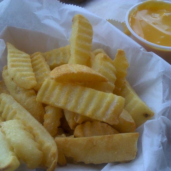 Crinkle-Cut Cheese Fries @ Target