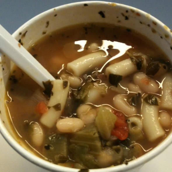 Pasta Fagioli @ The Soup Spot