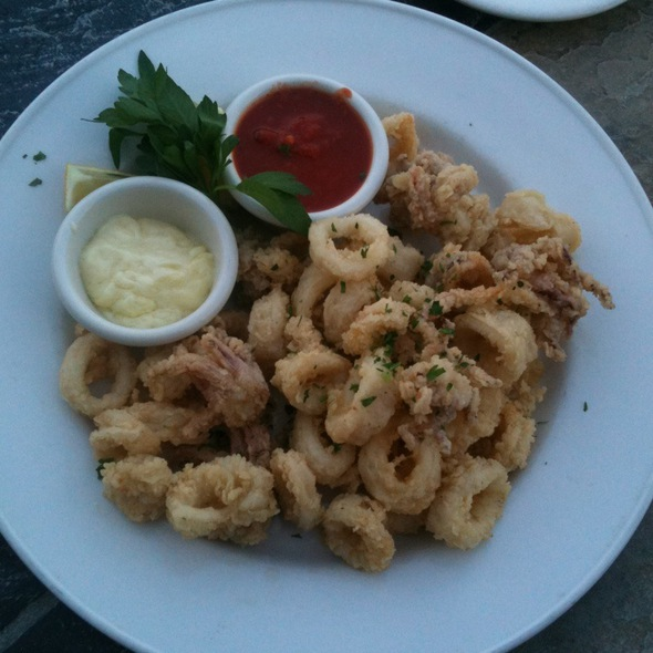 Fried Calamari @ Servino Ristorante