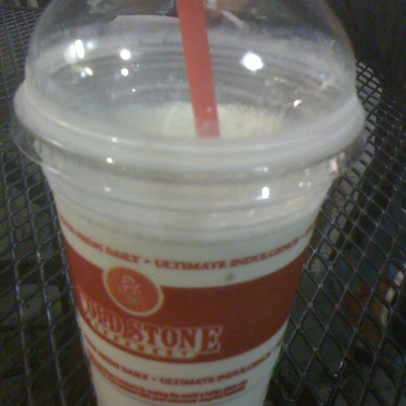 Pineapple Key Lime Pucker Milkshake @ Cold Stone Creamery