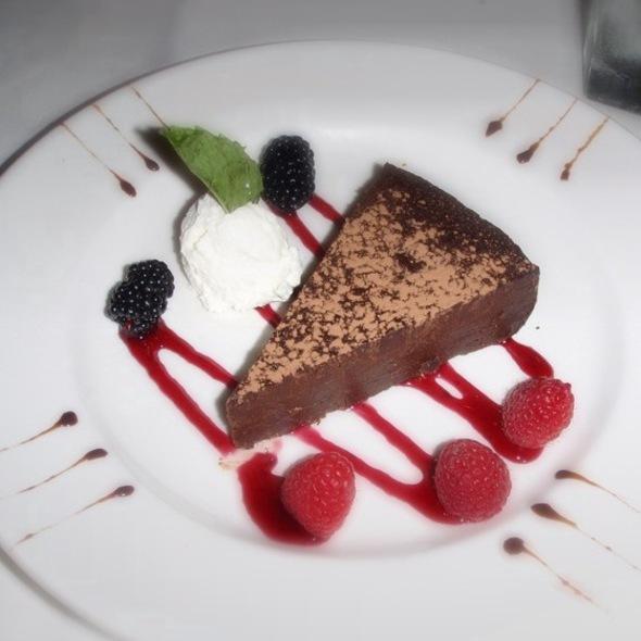 Flourless Chocolate Espresso Cake - The Capital Grille - Philadelphia, Philadelphia, PA