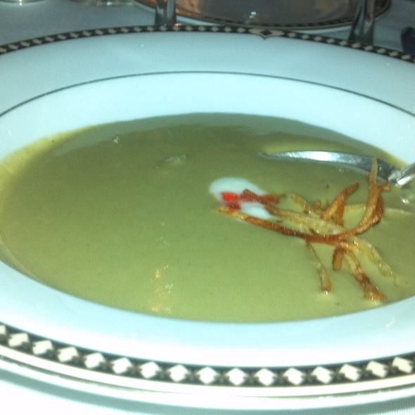Chilled Sorrel Soup @ Finger Lakes Culinary Bounty Dinner