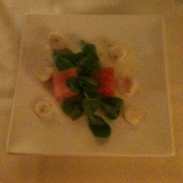 Watermelon and Arugula Salad - Keystone Ranch Restaurant, Keystone, CO