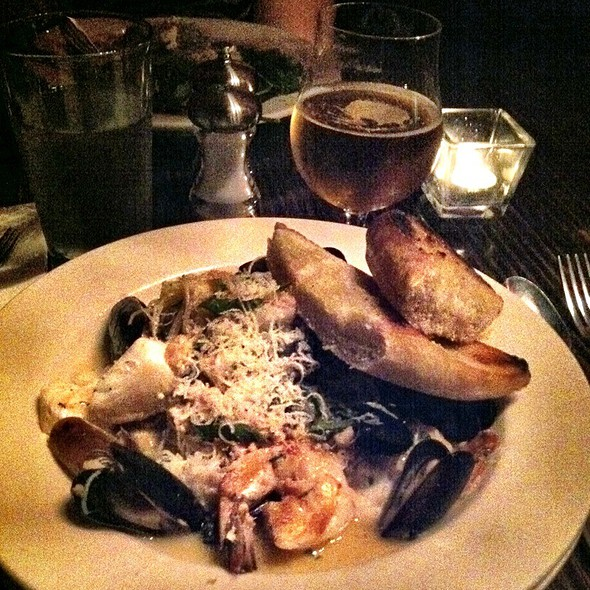 Seafood Pasta @ The Red Bird