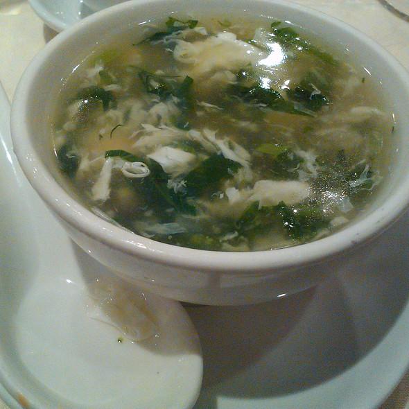 Sea food & Snow pea soup @ Emperor Fine Chinese Cuisine
