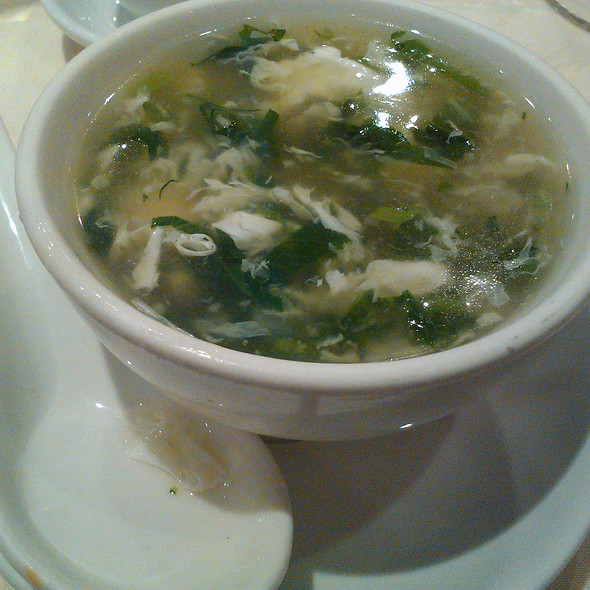 Sea food & Snow pea soup @ Emperor Fine Chinese Cuisine