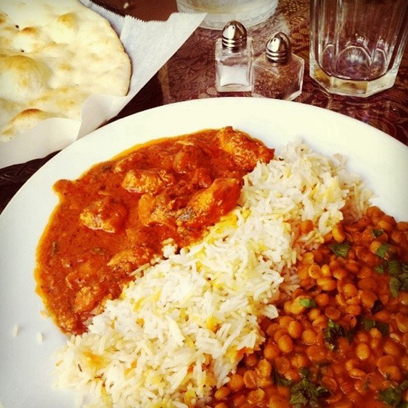 Chicken Curry Lunch Special @ Punjab Kabab House
