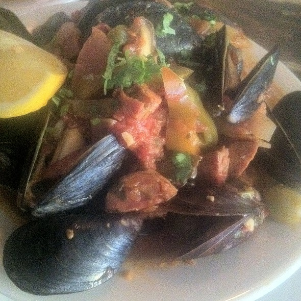Mussels & Sausage @ 5 burro cafe