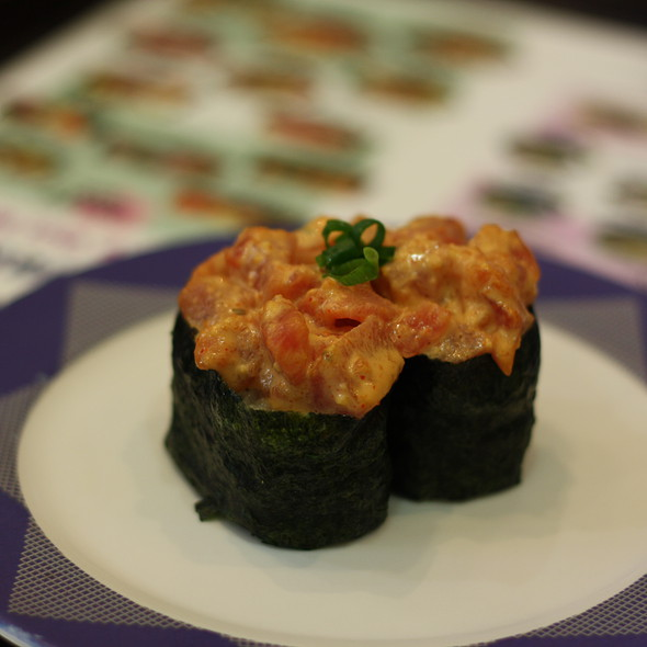 Spicy Ahi Sushi