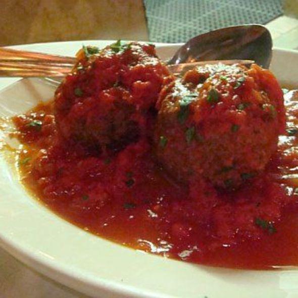 Meatballs @ Rao's Restaurant