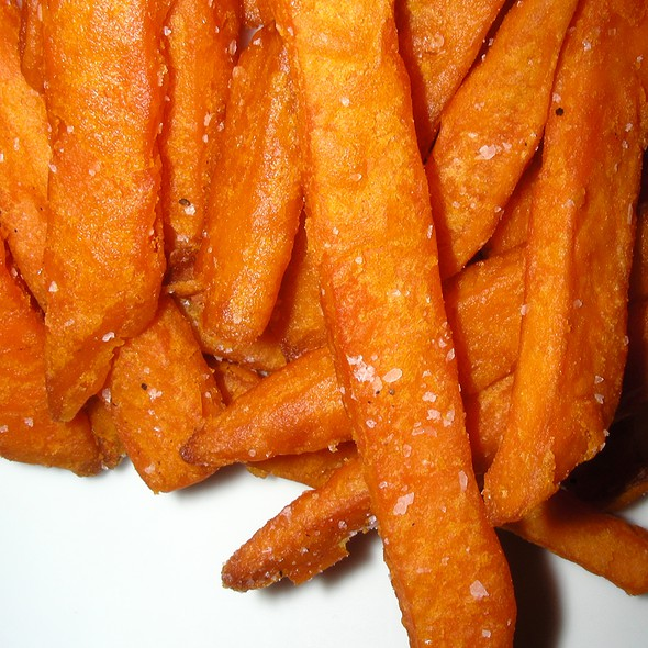 Sweet potato fries @ Eddie Aikau Restaurant & Surf Museum