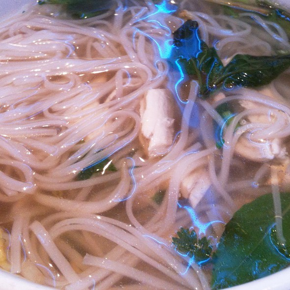 Chicken Pho @ Ginger
