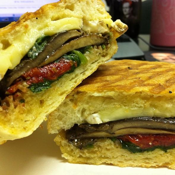 Magic Mushroom Sandwich