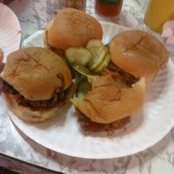 Cheeseburger @ White Manna Hamburgers