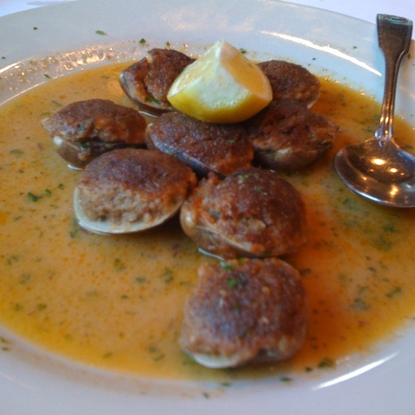 Baked Clams @ Arianos II Trattoria