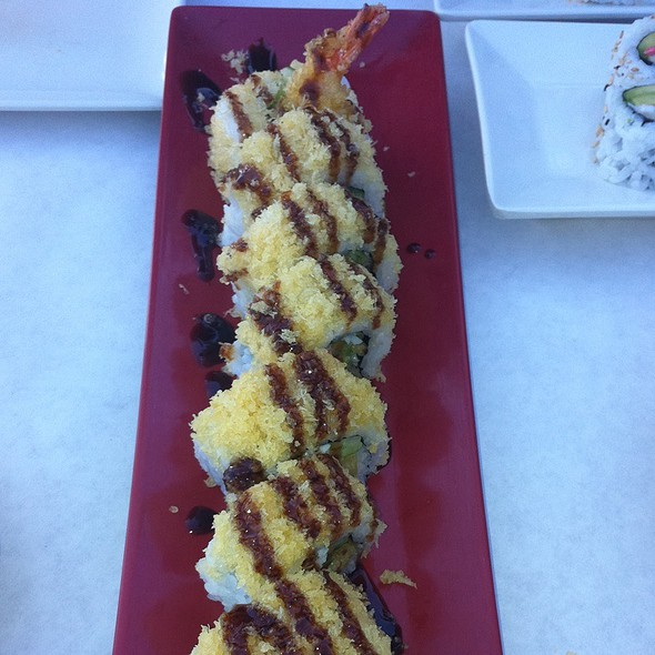 Shrimp Crunch Roll @ Eda-Mami