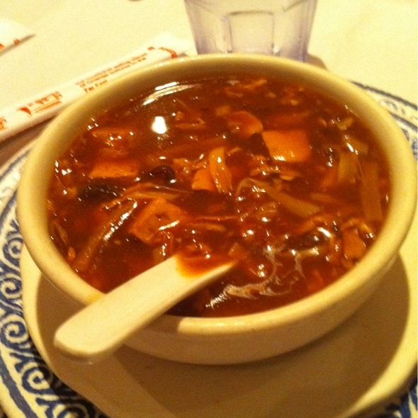 Hot and Sour Soup @ Royal East Restaurant
