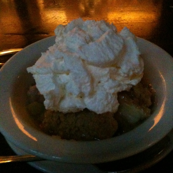Apple Crisp @ Crows Nest Restaurant