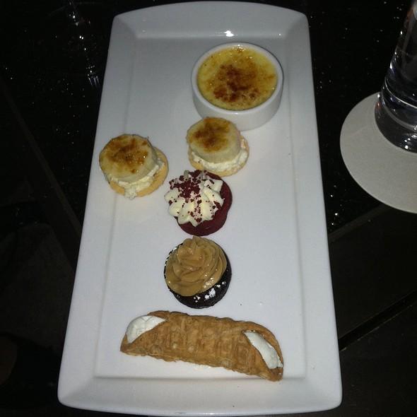 Mixed Dessert Platter - Grand Bar & Lounge at Soho Grand Hotel, New York, NY