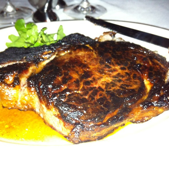 18 Oz Bone In Rib Eye - Morton's The Steakhouse - Beverly Hills, Los Angeles, CA