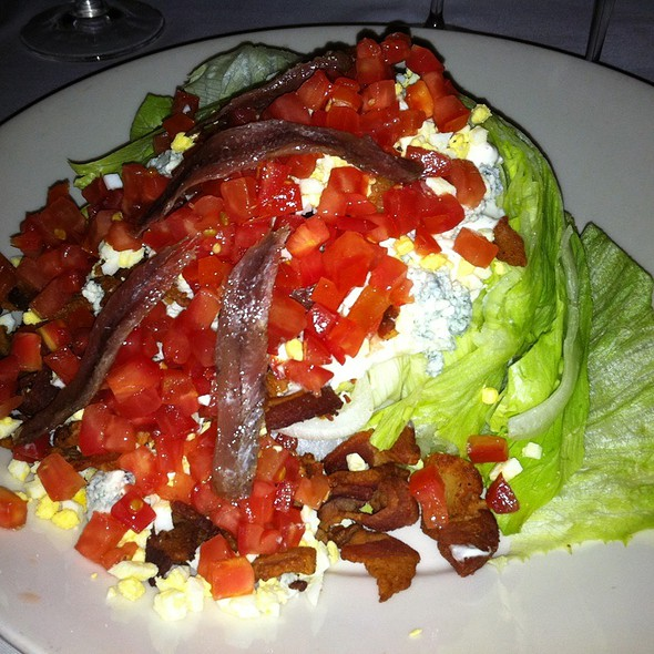 Wedge Salad - Morton's The Steakhouse - Beverly Hills, Los Angeles, CA