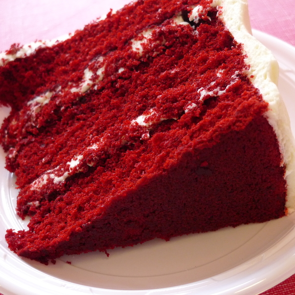 Red Velvet Cake @ Billy's Bakery