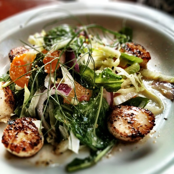 Pan Seared Scallops  - Riverboat Landing, Wilmington, NC