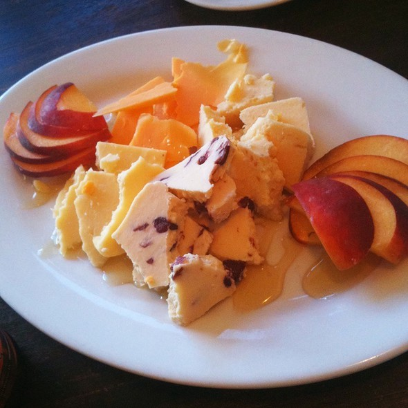 Fruit And Cheese Plate @ The Legend Classic Irvington Cafe