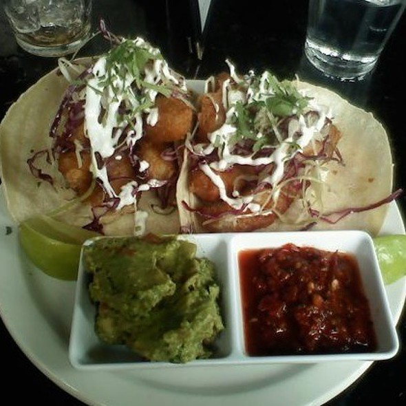 Baja Fish Taco @ Perch Pub