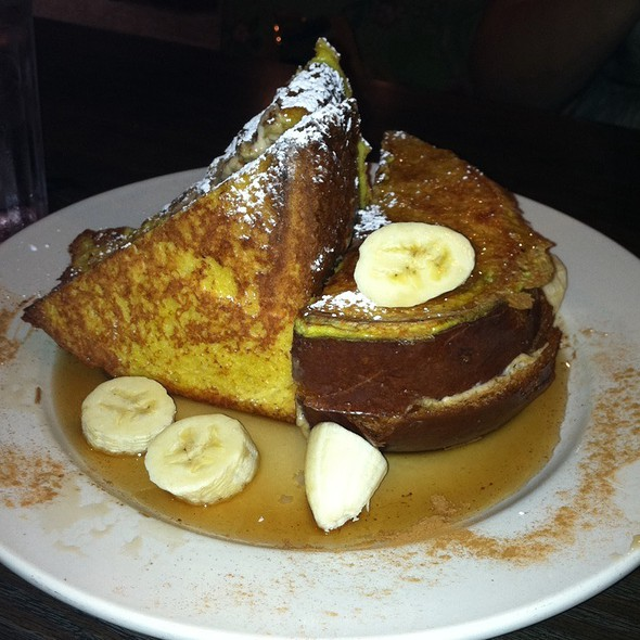 Banana Stuffed French Toast @ Sabrina's Cafe