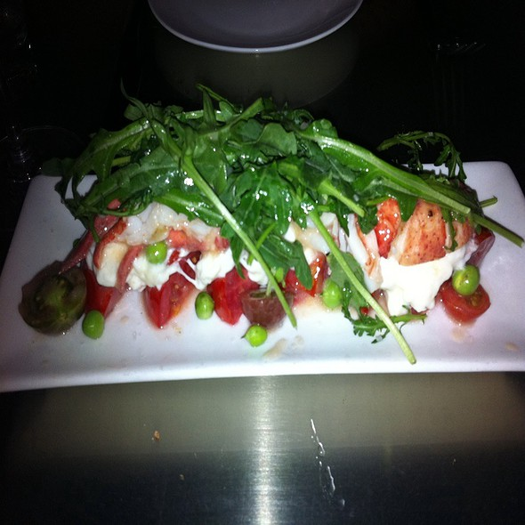 Lobster And Heirloom Tomato Salad @ Bar Crudo