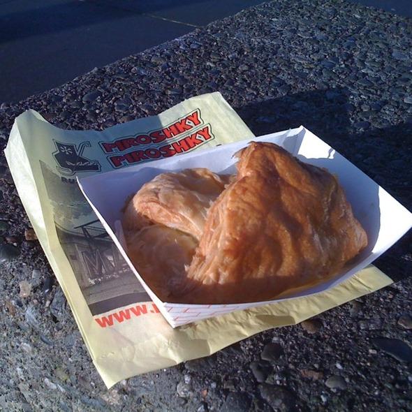 Ham and Cheese Piroshky @ Piroshky Piroshky