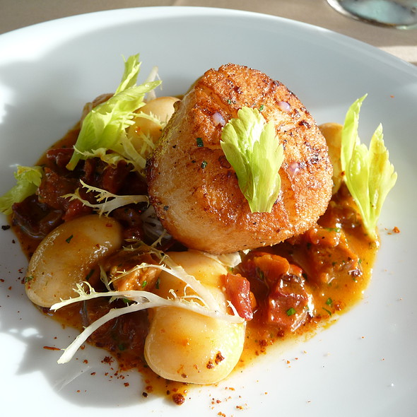 Seared Dayboat Scallops - RingSide Fish House - Fox Tower