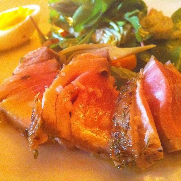 Appetizers @ Chez Panisse