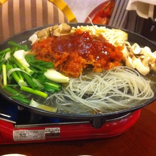 Mushroom Pork Bulgogi @ Hansik Korean Restaurant