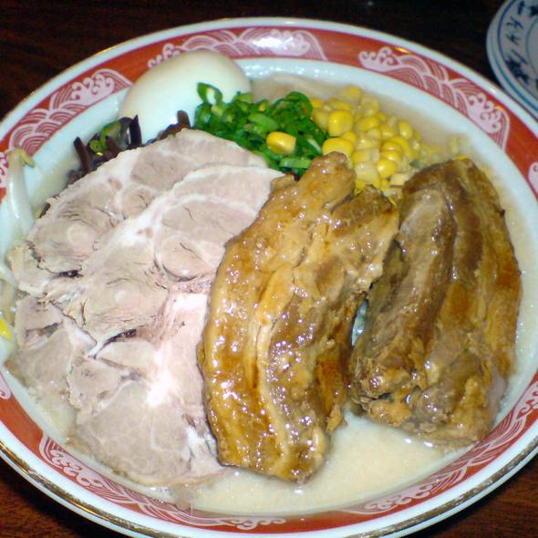 Pork Ramen @ Santa Ramen